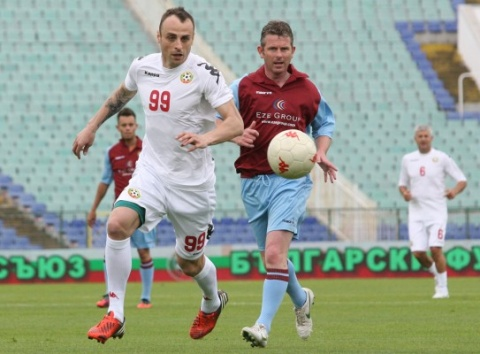 Bulgaria: Bulgaria Legends Beat Aston Villa Old Stars in Petrov Charity Game