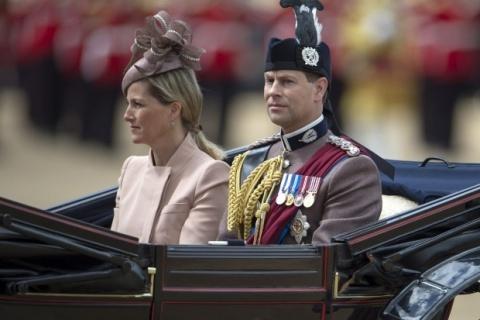 Bulgaria: Bulgaria Welcomes Britain's Prince Edward, Wife Sophie