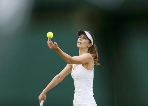 Bulgaria: Bulgaria's Pironkova Overcomes Croatia's Martic at Wimbledon