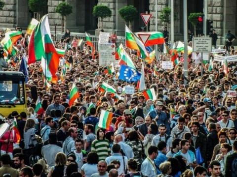 Bulgaria: Bulgaria's Protests - Day 24