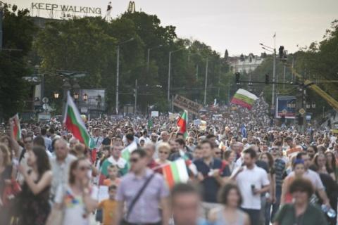 Bulgaria: Bulgarians Hold Fresh Demonstration