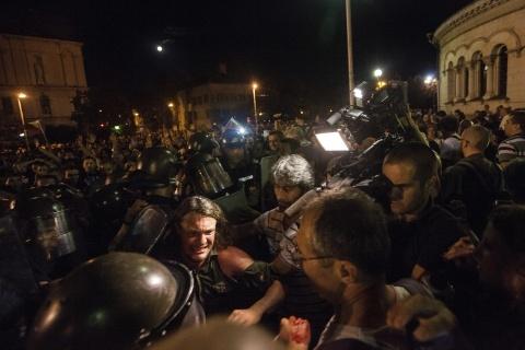 Bulgarian Prosecutors Initiate Riot Police Brutality Probe: Bulgarian Prosecutors Initiate Riot Police Brutality Probe