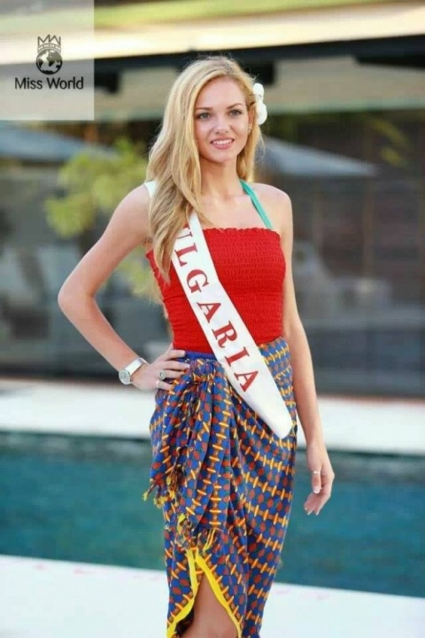 Bulgarian Beauty among Top 10 in Miss World Pageant: Bulgarian Beauty among Top 10 in Miss World Pageant