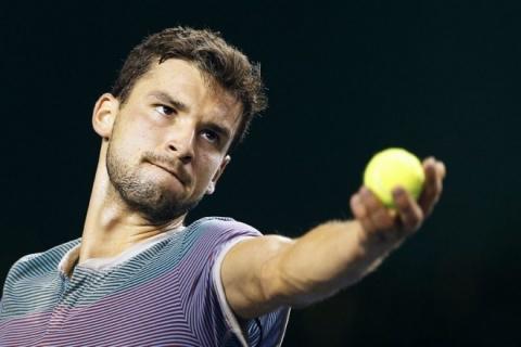 Bulgaria: Bulgaria's Dimitrov Beats Fognini to Reach Paris Masters 3rd Round