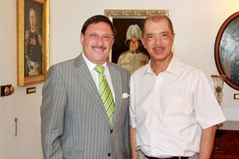 Bulgaria: Seychelles President James Michel Met Honorary Consul Maxim Behar