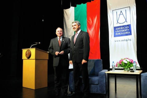 Bulgarian President at AUBG: We All Must Take Initiative!: Bulgarian President at AUBG: We All Must Take Initiative!
