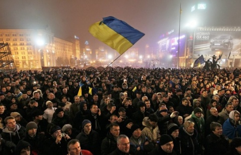 Ukrainian Rulers Vow to Not Impede Pro-EU Rallies: Ukrainian Rulers Vow to Not Impede Pro-EU Rallies