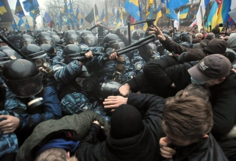 Clashes, Injuries Reported at Pro-EU Rally in Kiev: Clashes, Injuries Reported at Pro-EU Rally in Kiev