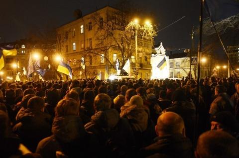 Bulgaria: Protesters Block Ukraine President's Office in New Rally