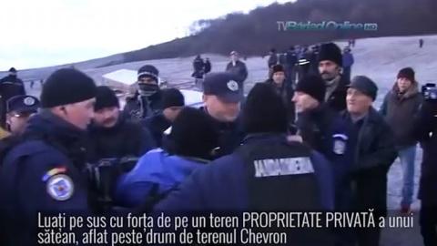 Bulgaria: Romanians Threaten to Set Houses Ablaze in Protest against Chevron Fracking