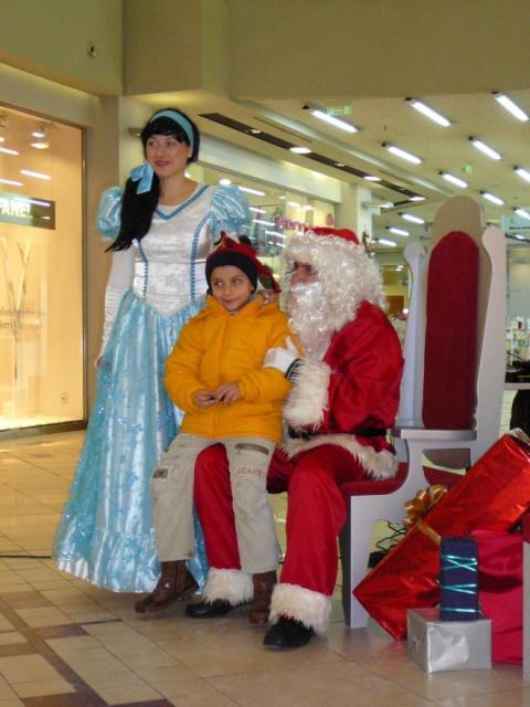 Santa Claus Arrives at Sofia Airport: Santa Claus Arrives at Sofia Airport