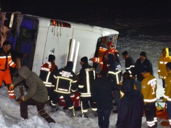 Bulgaria: Coach with Bulgarians Crashes Near Border