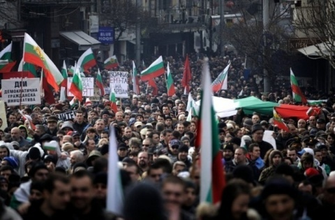 Bulgaria: Bulgarians to Hold 1st Anti-Cabinet Rally for 2014