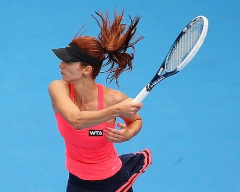 Bulgaria: Pironkova: No More Crying and Breaking Racquets