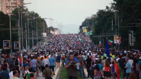 Bulgarian Capital Sofia Braces for Fresh Mass Rallies: Bulgarian Capital Sofia Braces for Fresh Mass Rallies