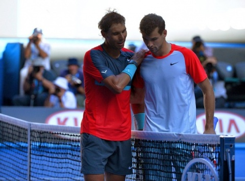Bulgaria: World No. 1 Nadal Beats Bulgaria's Dimitrov in Melbourne