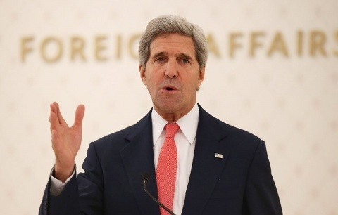 Bulgaria: Kerry Vows Support for Ukrainian Protesters