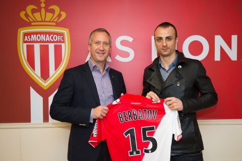 Bulgaria: Dimitar Berbatov in Monaco: I'm Excited about this New Challenge