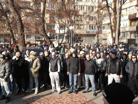 Bulgaria: Rival Football Fans Unite in Anti-Mufti Protest in Plovdiv