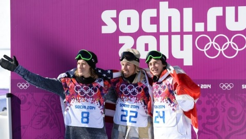 Bulgaria: US Snowboarder Wins 1st Gold of Sochi Olympics