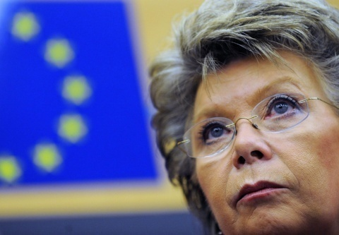 Bulgaria: Commissioner Reding: EU Single Market Not Swiss Cheese