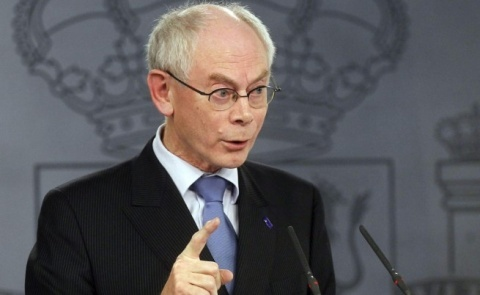 Bulgaria: EC President Van Rompuy Welcomes Ukraine's Peace  Agreement