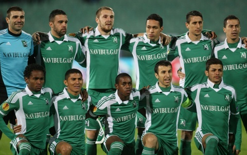 Bulgaria: Bulgaria's Ludogorets Host Lazio in Europa League Return Match