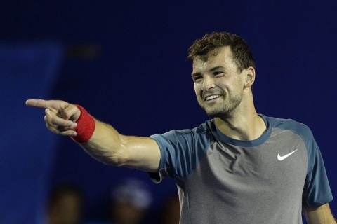 Bulgaria: Bulgaria's Dimitrov Beats Haase in Indian Wells
