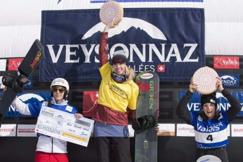 Bulgaria: Bulgaria's Zhekova Finishes Snowboard Season 3rd