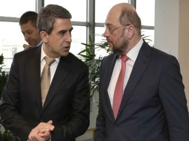 Bulgaria: Bulgarian President, EP President Discuss 2014 EP Elections