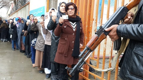 Bulgaria: Afghans Vote for President Under Tight Security