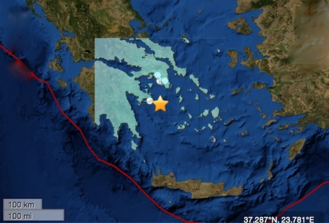Bulgaria: Southern Greece Shaken by 5.6 Earthquake