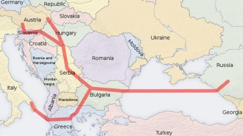 Bulgaria: Italy Confirms South Stream Gas Pipeline as Priority Project