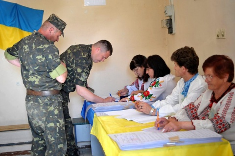 Bulgaria: Ukrainians Vote En Masse, Elections in Eastern Ukraine Fail