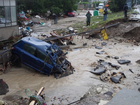 Bulgaria: Two Reported Victims of the Floods in Dobrich