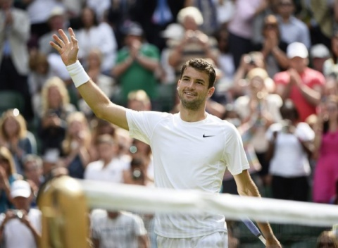 Bulgaria: Grigor Dimitrov Reaches Wimbledon Quarterfinal, Awaits Murray