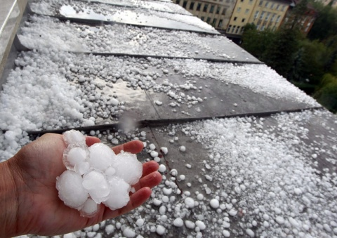 Bulgaria: Heavy Hailstorm Floods Parts of Bulgaria's Sofia