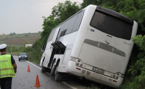 Bulgaria: Bus Carrying 50 Belarusian Children Overturns Near Bulgaria's Varna