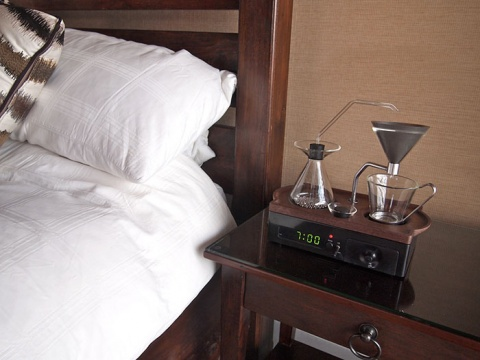 Bulgaria: British Industrial Designer Invents Alarm Clock That Makes Coffee