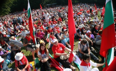 Bulgaria: Bulgarian Socialists Hold Traditional Mount Buzludzha Fest