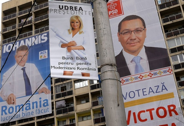 Bulgaria: Victor Ponta Set to Win First Round of Romanian Presidential Race