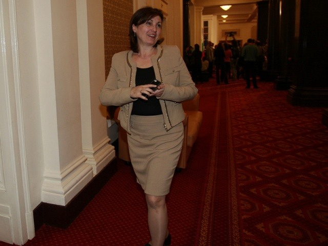 Bulgaria: Rumyana Bachvarova - Deputy PM for Coalition Policy (GERB)