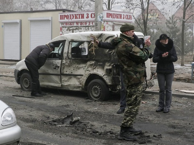 Bulgaria: Rocket Fire Kills At Least 15 in Ukraine's Mariupol, Police Says