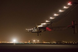 Solar Plane Completes 2nd Leg of Round-the-Globe Trip