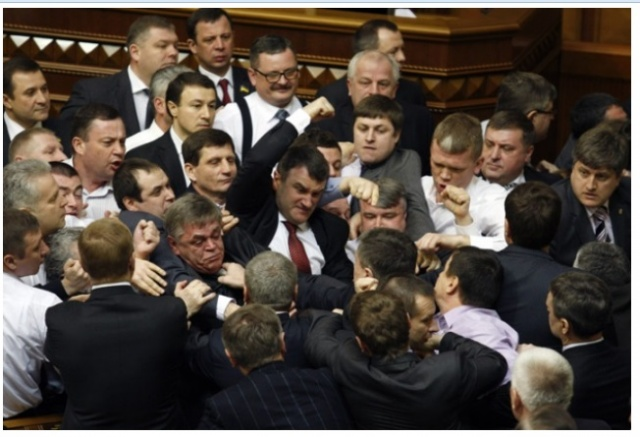 Ukraine: Ukraine MPs Mull Setting Up 'Parliament Police' after Tuesday Fight