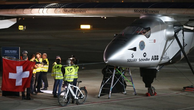 Bulgaria: First Journey Around the World for Innovative Aircraft Solar Impulse 2