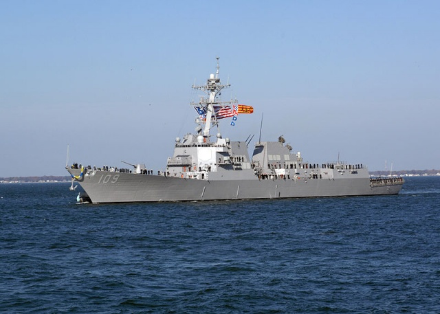 Bulgaria: US Navy Destroyer Jason Dunham  to Enter Black Sea Friday