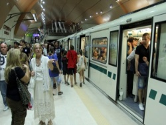 Bulgaria: Sofia Citizens Leave Cars to Ride Subway amidst Street Repairs