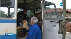Bulgaria: Bulgarian Village Uses Same Van to Carry Bread and Dead