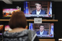 Defiant Tsipras Urges Greeks to Vote 'No' in Bailout Referendum